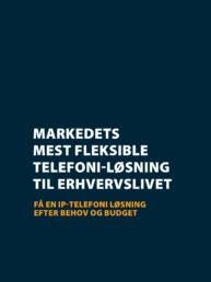 Fleksibel telefoni løsning til erhvervslivet - DataFacility
